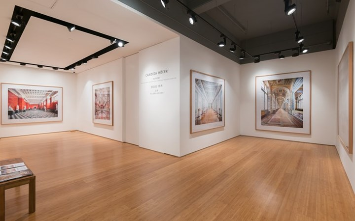 Exhibition view: Candida Höfer, Memory: Selected Works from the State Hermitage Museum exhibition, Ben Brown Fine Arts, Hong Kong (13 October–27 November 2015). Courtesy Ben Brown Fine Arts.
