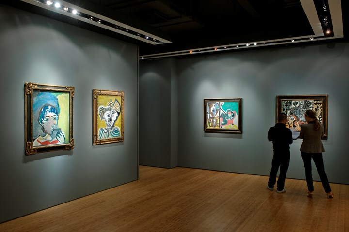 Exhibition view: PABLO PICASSO, Ben Brown Fine Arts, Hong Kong (24 November 2010–28 January 2011). Courtesy Ben Brown Fine Arts.