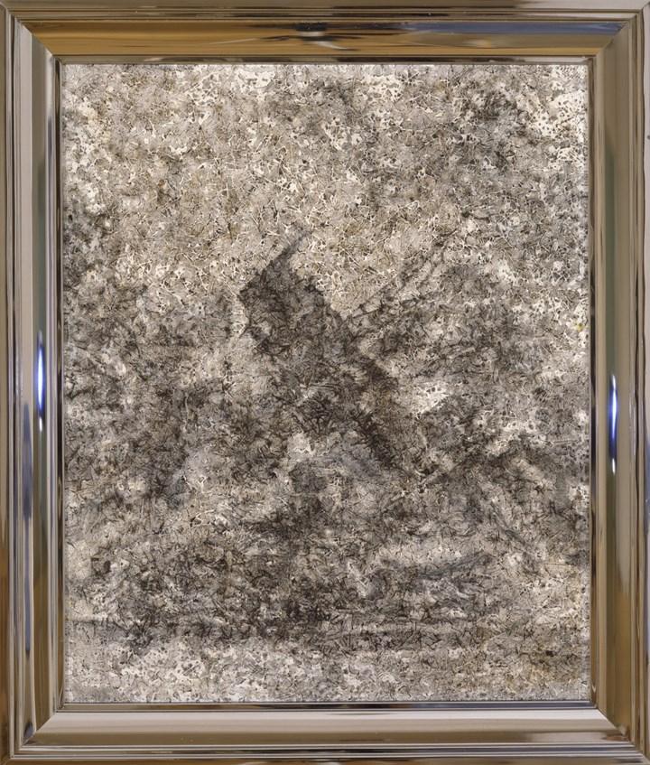 Richard Artschwager, Arizona (2002). Acrylic on fibre panel, in metal artist's frame. 66 x 55.9 cm. © 2019 Richard Artschwager / Artists Rights Society (ARS), New York. Courtesy Gagosian.