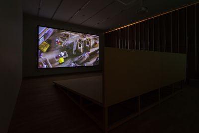 Cao Fei, La Town (2014). Exhibition view: Cao Fei, A Hollow in a World Too Full, Tai Kwun, Hong Kong (8 September 2018–4 January 2019). Courtesy Tai Kwun.
