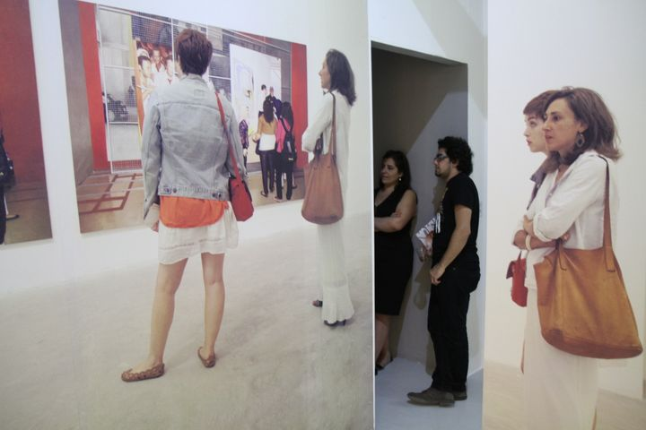 Home Works 6 exhibition curated by Tarek Abou El Fetouh, Ashkal Alwan, Beirut (17 May–10 June 2013). Courtesy Ashkal Alwan.