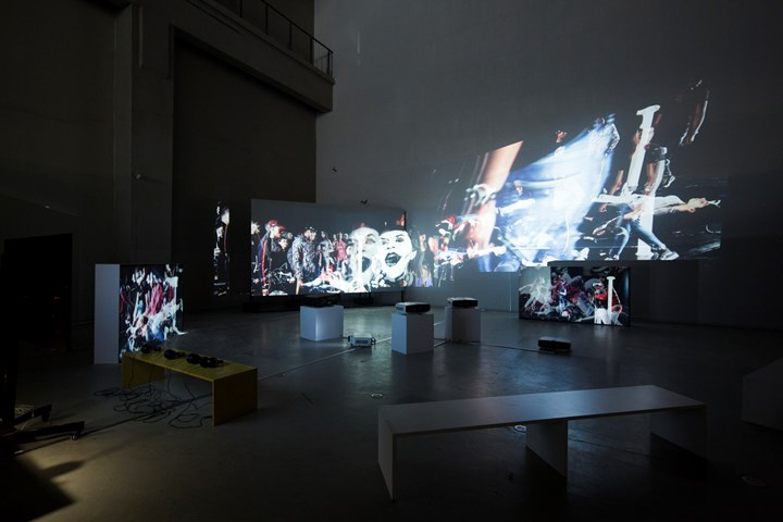 Meiro Koizumi, The New Breath Just After the Tempest/ Seven Deadly Sins (2018). Video installation. 10 min to 20 min each. Exhibition view: Titled Proregress—Art in an Age of Historical Ambivalence, 12th Shanghai Biennale, Power Station of Art (10 November 2018–10 March 2019). Courtesy Shanghai Biennale.