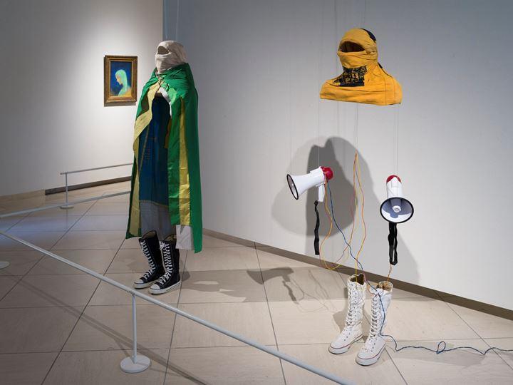 Exhibition view: SYNCHRONICTY - Daisuke Miyatsu Collection x Kasama Nichido Museum of Art Blending the quintessence of modern and contemporary art, Kasama Nichido Muse-um of Art (23 March–19 May 2019). Courtesy Kasama Nichido Museum of Art.