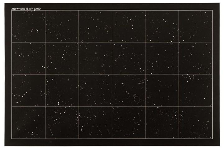 Antonio Dias, Anywhere is my land (1968). Acrylic on canvas. 130 x 195 cm. Courtesy Galeria Nara Roesler.