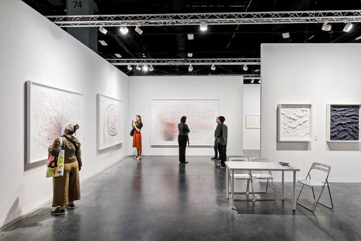 Do Ho Suh, Haegue Yang and Jason Martin, STPI, Art Basel Miami Beach (5–8 December 2019). Courtesy Ocula. Photo: Charles Roussel.