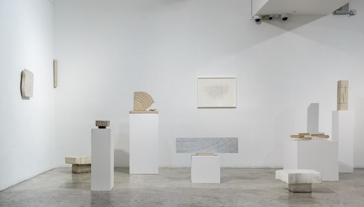 Exhibition view: Kim Lim, Sculpting Light, STPI – Creative Workshop & Gallery, Singapore (13 January–3 March 2018). © STPI – Creative Workshop & Gallery.