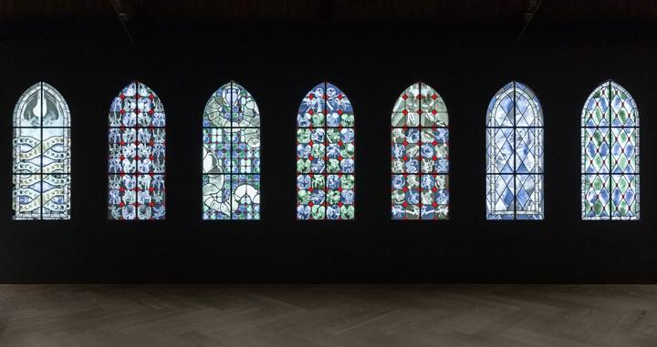 Exhibition view: Wim Delvoye, Perrotin, Shanghai (20 September–17 October 2018). Courtesy Perrotin. © Studio Wim Delvoye, Belgium / ADAGP, Paris & SACK, Seoul 2018. Photo: Ringo Cheung.