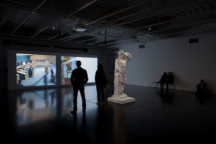 Exhibition view: Xu Wang, Garden of Seasons, Vincent Price Art Museum, Monterey Park (8 December 2018–9 March 2019). Courtesy Equitable Vitrines.