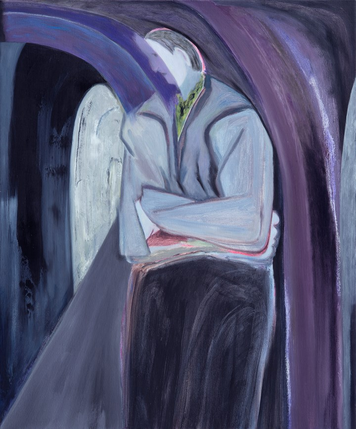 Firenze Lai, The Hollow Passage (2017). Oil on canvas, 85 x 70 cm. Courtesy the artist.