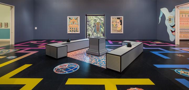 Exhibition view: Jess Johnson and Simon Ward, Terminus, Heide Museum of Modern Art, Melbourne (2 November 2019–1 March 2020). Courtesy Heide Museum of Modern Art. Photo: Christian Capurro.