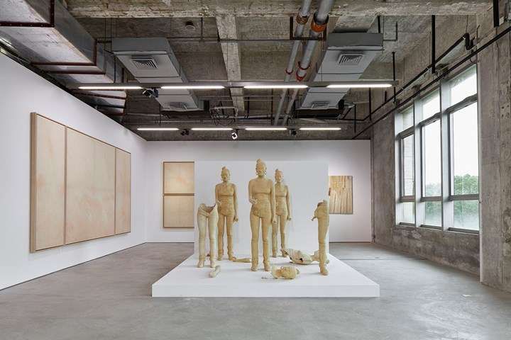 Exhibition view: Soul of the Soulless, Condo Shanghai, Edouard Malingue Gallery hosting König Galerie and Esther Schipper (7 July–26 August 2018). Courtesy Edouard Malingue Gallery. Photo: Zhang Hong