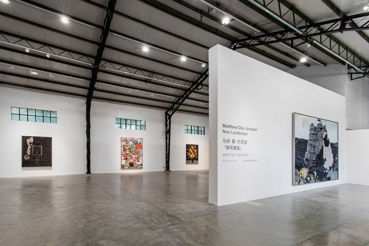 Exhibition view: Matthew Day Jackson, New Landscape, Qiao Space, Shanghai (7 November 2018–21 January 2019). Courtesy Hauser & Wirth. Photo: JJYPHOTO.