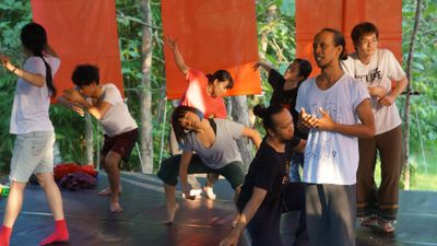 D_LAP#3 (Dance Laboratory Project#3) at Studio Plesungan (2019). Photo: studioplesunganarchive2019.