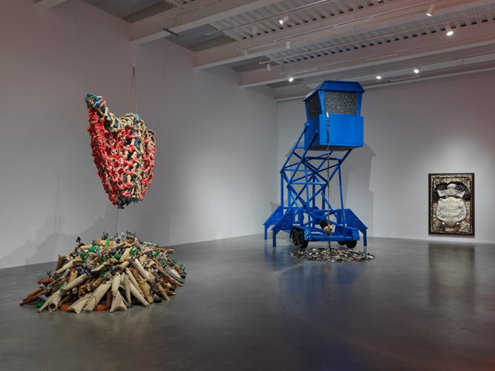 Exhibition view: Nari Ward, We the People, New Museum, New York (13 February–26 May 2019). Courtesy New Museum. Photo: Maris Hutchinson/EPW Studio.
