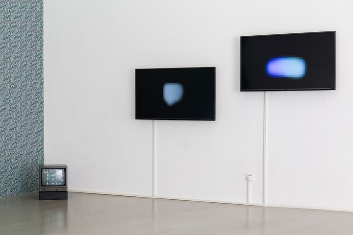 Pak Sheung Chuen, That Two Spots of Light (2006–16). 3 channel video installation. Exhibition view: Pak Sheung Chuen: That Light, Mirrored Gardens, Vitamin Creative Space, Guangzhou (17 December 2016–26 February 2017). Courtesy Vitamin Archive.