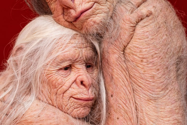 Patricia Piccinini, Sanctuary (detail) (2018). Exhibition view: Patricia Piccinini & Joy Hester: Through love ..., TarraWarra Museum of Art (25 November 2018–11 March 2019). Collection of the artist. Courtesy the artist, Tolarno Galleries, Melbourne, and Roslyn Oxley9 Gallery, Sydney. Photo: Rick Liston.