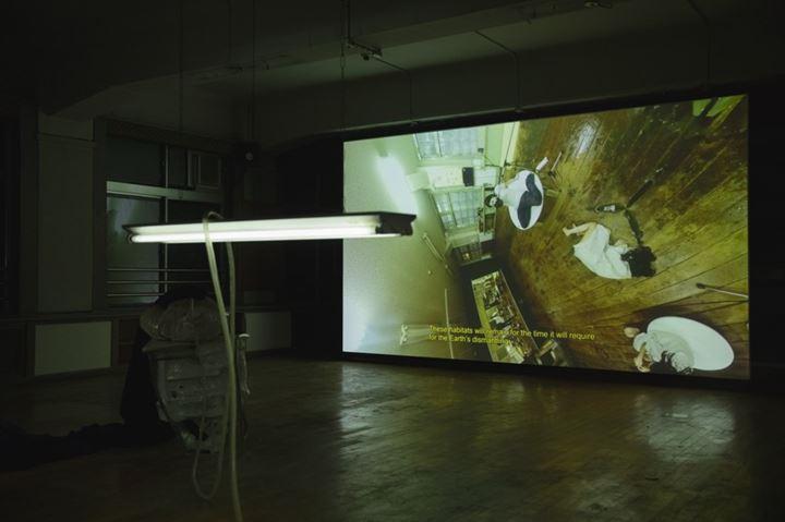 Fabien Giraud & Raphaël Siboni, The Everted Capital (1971 – 4936), The Unmanned, Season 2, Episode 2 (2019). Exhibition view: If the Snake, Okayama Art Summit (27 September–24 November 2019). Collection of Ishikawa Foundation, Okayama. Courtesy the artists. Photo: Ola Rindal.