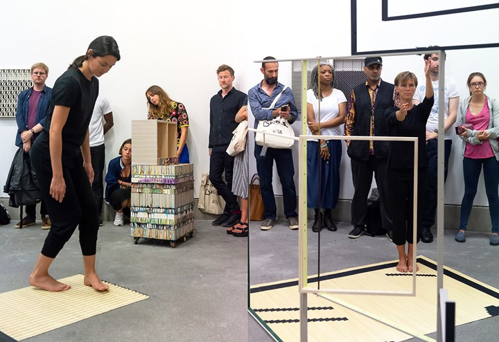 Activation' of Suki Seokyeong Kang's Land Sand Strand, Liverpool Biennial 2018: Beautiful world, where are you? (14 July–28 October 2018). Courtesy the artist and Liverpool Biennial. Photo: Brian Roberts.