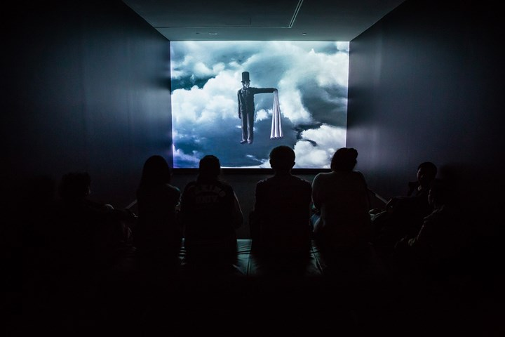 Sun Xun, 21 Grams (2010) (Still). Single-channel animation video, sound. Exhibition view: Sun Xun, Museum of Contemporary Art Australia, Sydney (9 July–14 October 2018). Courtesy the artist and Museum of Contemporary Art Australia. © Sun Xun. Photo: Jacquie Manning.