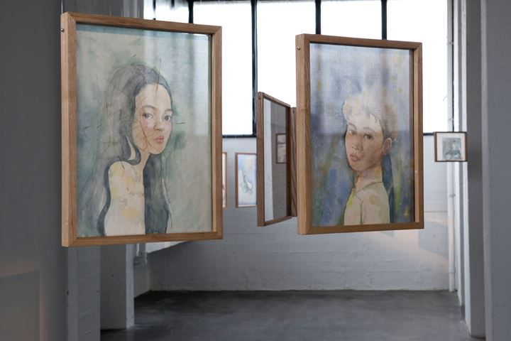 Exhibition view: Thao Nguyen Phan, Monsoon Melody, WIELS, Brussels (1 February–26 April 2020). Courtesy WIELS.