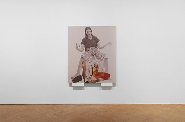 VALIE EXPORT, Die Geburtenmadonna (1976/1980). Exhibition view: The 1980 Venice Biennale Works, Galerie Thaddaeus Ropac, London (29 November 2019–25 January 2020). © VALIE EXPORT. Courtesy Galerie Thaddaeus Ropac.