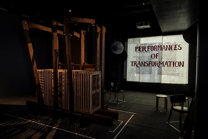William Kentridge, The Refusal of Time (2012). Exhibition view: The Refusal of Time, Kunsten Museum of Modern Art Aalborg (21 March 2018–19 August 2018). Courtesy the artist. Photo: Niels Fabaek.