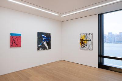 Exhibition view: Gregor Hildebrandt, Behind My Back, In Front of My Eyes, Perrotin, Hong Kong (25 September–20 November 2021).