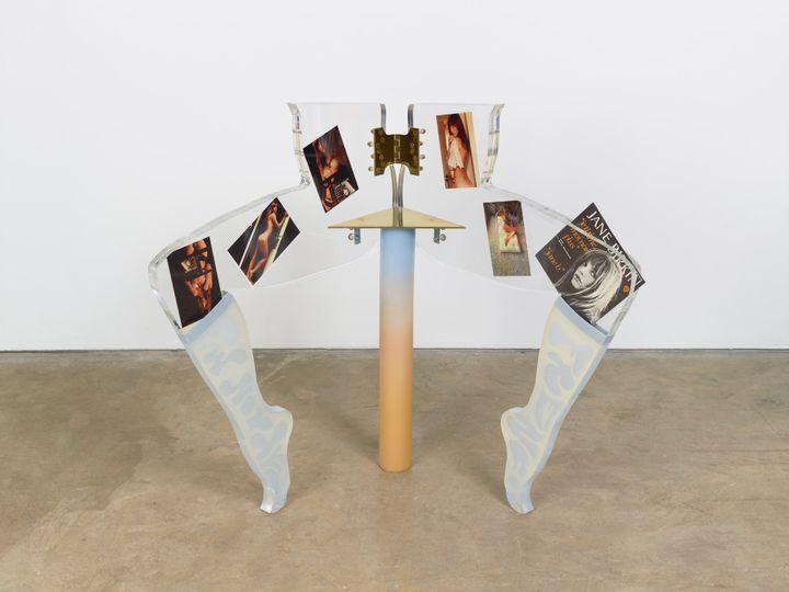 Anthea Hamilton, Leg Chair (Jane Birkin) (2011). Courtesy Arts Council Collection, Southbank Centre, London. © the artist.