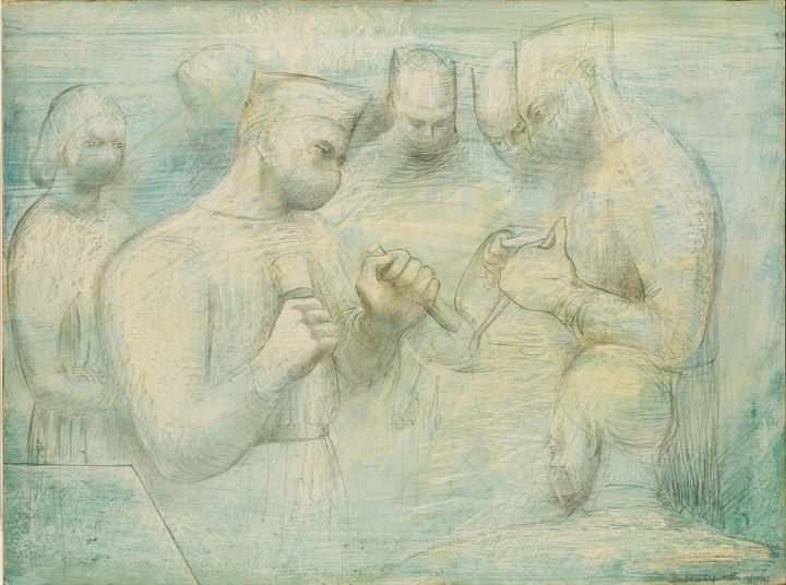 Barbara Hepworth, Reconstruction (1947). Courtesy Arts Council Collection, Southbank Centre, London. © Bowness.