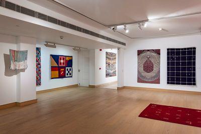 Exhibition view: Hanging Gardens, Nature Morte, Delhi (29 July–28 August 2021).