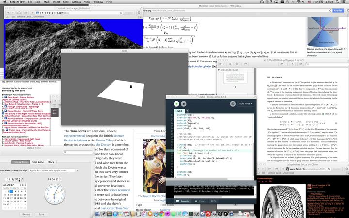 Overlapping files and web pages present a chaos of textual information.