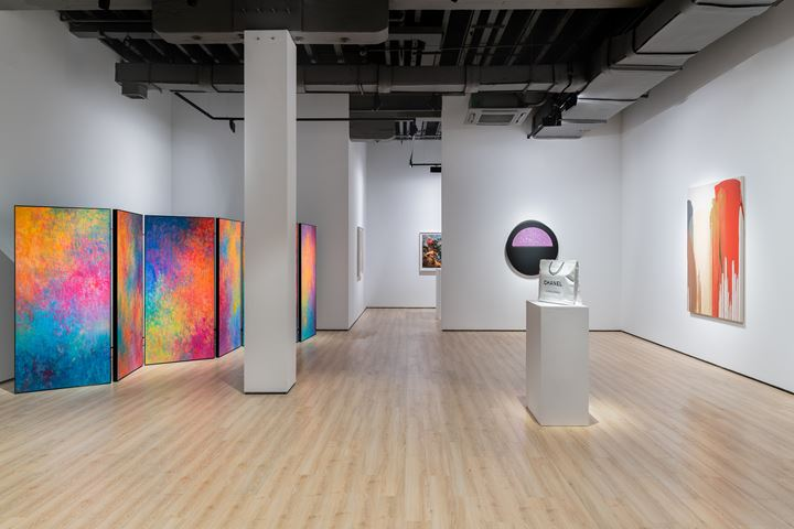 Exhibition view: Approaches to Abstraction, Almine Rech, Shanghai (12 July 2019–24 August 2019). Courtesy Almine Rech.