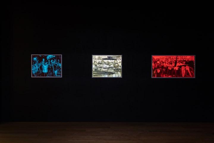 Exhibition view: Hank Willis Thomas, My Life is Ours, Ben Brown Fine Arts (20 September–27 October 2018). Courtesy Ben Brown Fine Arts.
