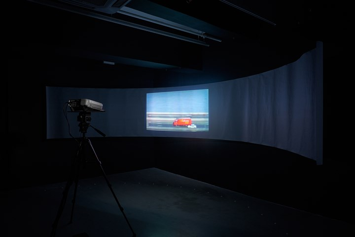 Ellen Pau, Recycling Cinema (2000). Exhibition view: What About Home Affairs?, Para Site, Hong Kong (8 December 2018–17 February 2019). Courtesy Para Site.