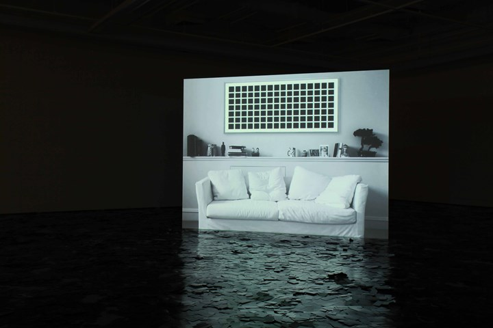 Exhibition view: Countershadows (tactics in evasion), Institute for Contemporary Arts, Singapore (20 September–26 October 2014).