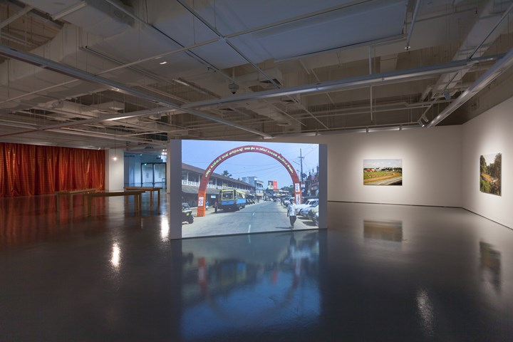 Exhibition view: Dissolving Margins, Institute of Contemporary Arts Singapore, LASALLE College of the Arts (20 October–22 January 2019). Courtesy Institute of Contemporary Art Singapore, LASALLE College of the Arts.