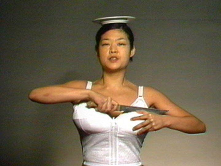 Patty Chang, Melons (At Loss) (1998) (Still). Courtesy the artist.