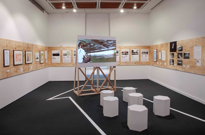 Exhibition view: Radicalism in the Wilderness: Japanese Artists in the Global 1960s, Japan Society, New York (8 March–9 June 2019). Courtesy Japan Society.