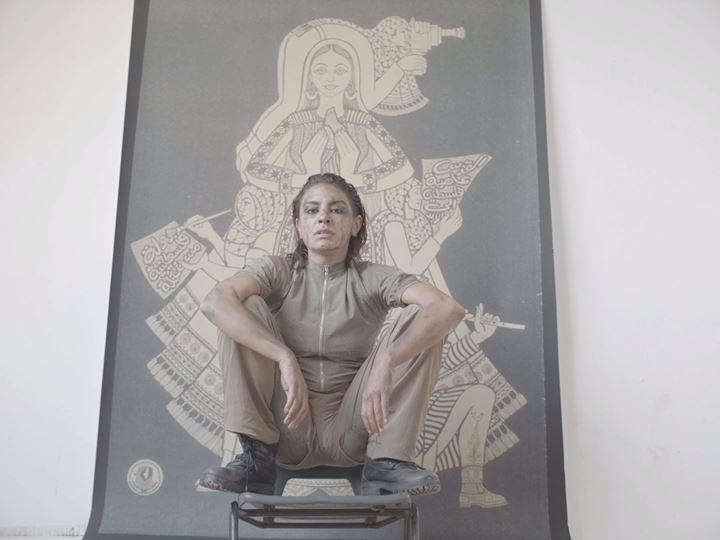 Sophia Al-Maria, Beast Type Song (2019) (still). Courtesy the artist.