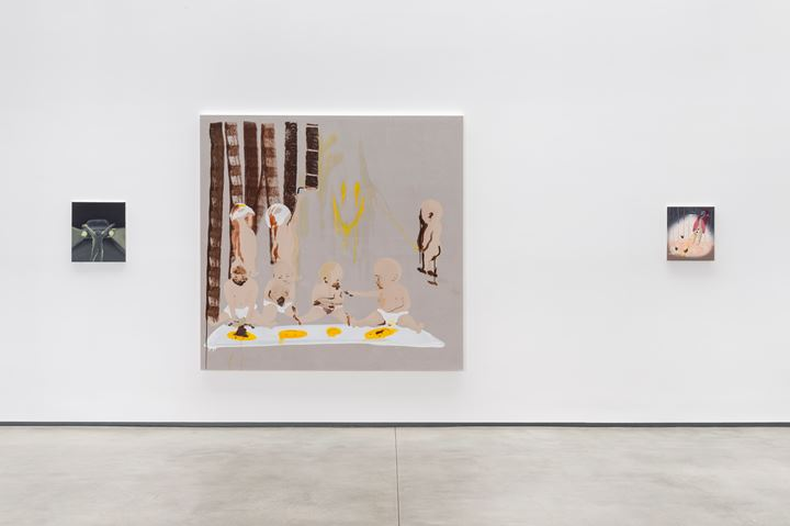 Exhibition view: Smiley has no nose, David Kordansky Gallery, Los Angeles (18 July–29 August 29 2015). Courtesy David Kordansky Gallery.