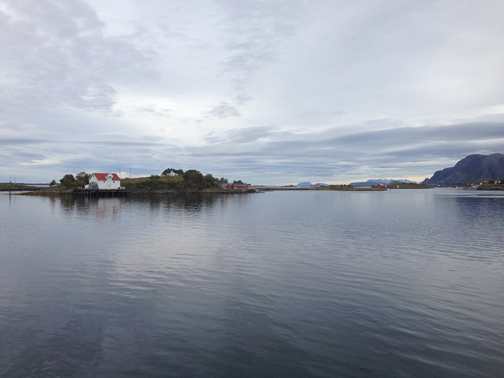 Scenery from aboard the MS Trollfjord. Photo: Cathryn Drake.