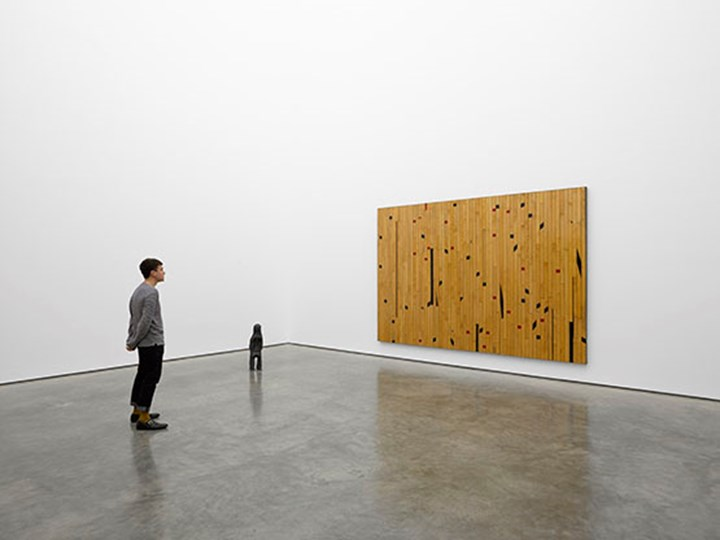 Exhibition view: Theaster Gates, Freedom of Assembly, White Cube, London (29 April–5 July 2015). © Theaster Gates. © White Cube. Photo: George Darrell.