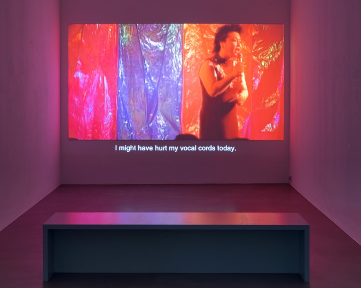 Jiang Zhi, Our Love (2005). Exhibition view: Episode I, Urban Explosion, The D-Tale, Video Art from the Pearl River Delta, Times Art Center Berlin (1 December 2018–12 January 2019). Courtesy Times Art Center Berlin. Photo: graysc.de.