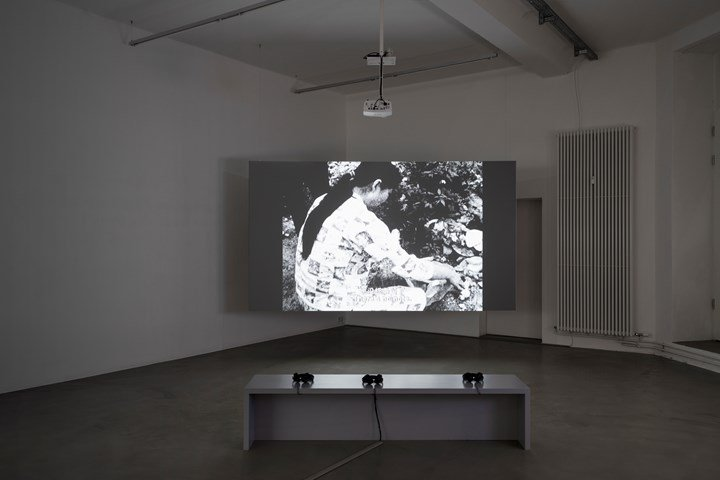 Huang Weikai, Disorder (2009). Exhibition view: Episode I, Urban Explosion, The D-Tale, Video Art from the Pearl River Delta, Times Art Center Berlin (1 December 2018–12 January 2019). Courtesy Times Art Center Berlin. Photo: graysc.de.