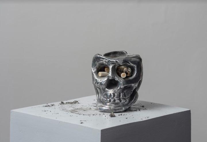 Pedro Caetano, Sem título (Untitled) (2016), Aluminium. Courtesy Bergamin & Gomide.
