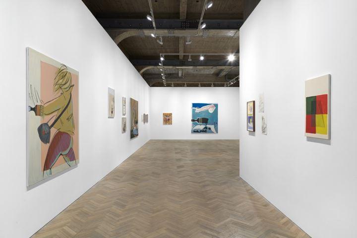 Exhibition view: Ella Kruglyanskaya, This is a Robbery, Thomas Dane Gallery, London (10 March–23 May 2020). Courtesy Thomas Dane Gallery.