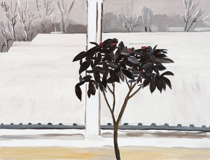 Zhao Gang, Coronavirus 1 (2020). Oil on canvas, 130 x 170 cm. Courtesy Each Modern.