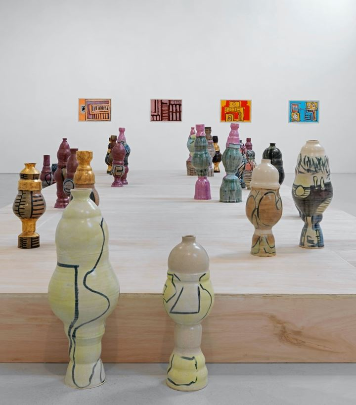 Exhibition view: Shawanda Corbett, Neighbourhood Garden, Corvi-Mora, London (16 June–31 July 2020). Courtesy Corvi-Mora.