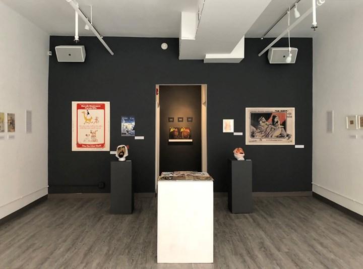 Exhibition view: American Peril: Imagining the Foreign Threat, Twelve Gates Arts, Philadelphia (2–20 November 2018). Courtesy Asia Contemporary Art Week.