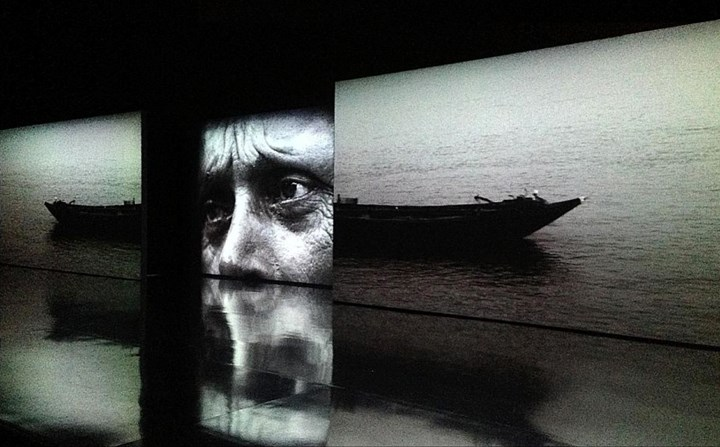 Ranbir Kaleka, House of Opaque Water (2012). Three-channel projection with sound on three panels. Courtesy the artist.